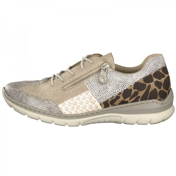 Rieker Damen Sneaker grau L3223-40