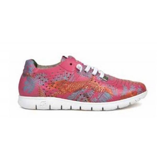 Slowwalk Morvi-W Sneaker Piel Crust Guepardo