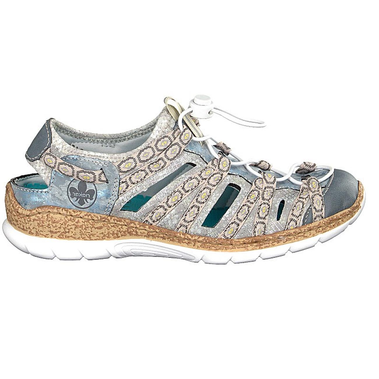 sports shoes cedb7 ad27b Rieker Damen Sneaker blau