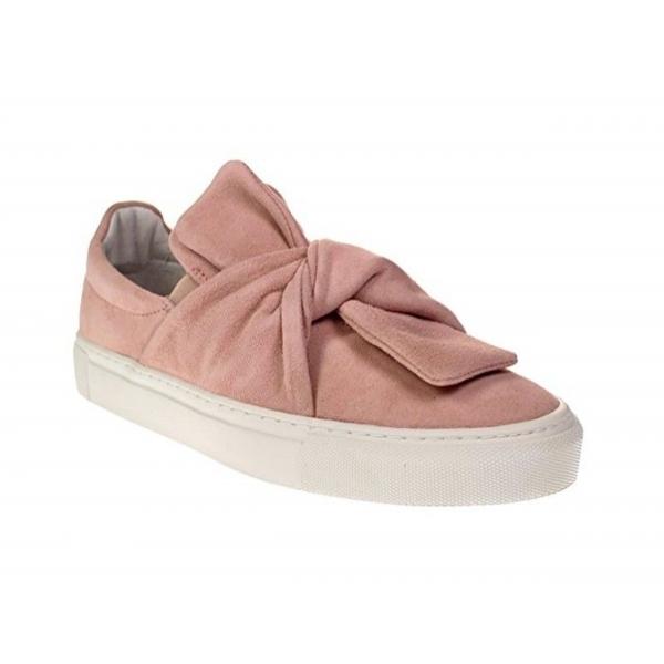 Maca Kitzbühel Sneaker/Slipper mit Schleife Nubukleder Rosa