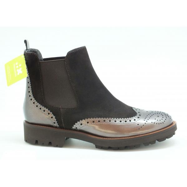 Gadea Chelsea Boot schwarz/metallic mit Extralight Profilsohle