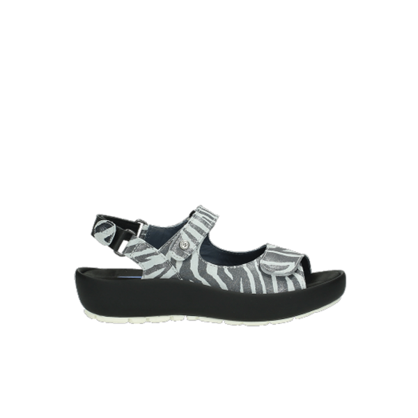 Wolky Sandale Swing 3325 Rio zebra offwhite