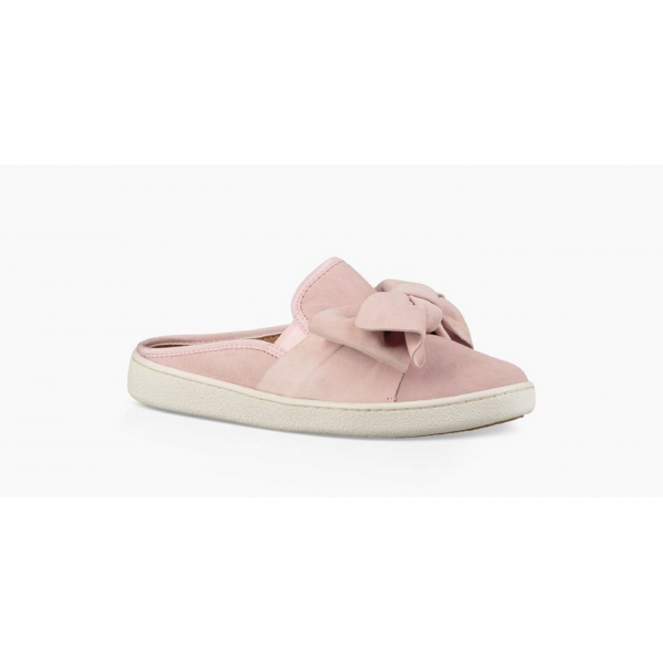 Ugg Luci Bow Pantolette Sneaker pink