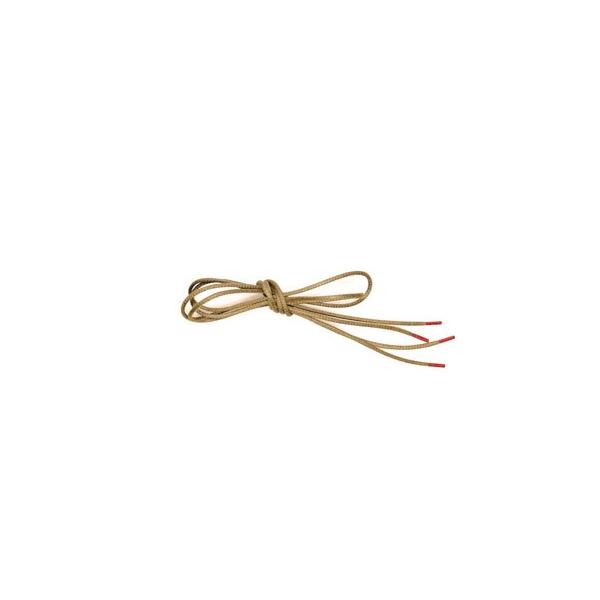 THINK!Schuhband mit roten Enden beige