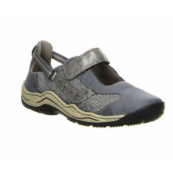 Rieker Damen Sneaker blau L0578-12