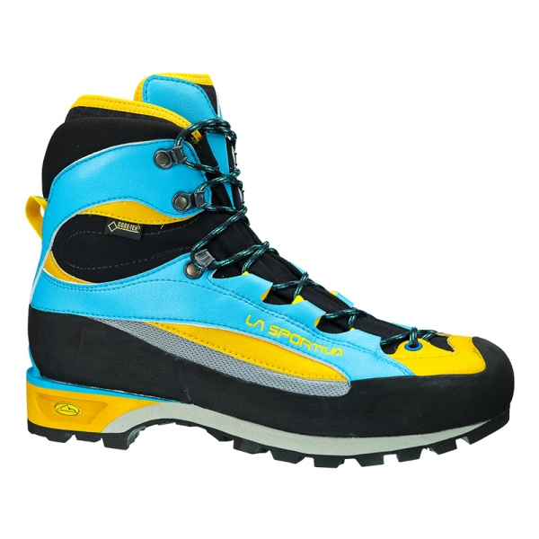 La Sportiva Trango Guide EVO Women GTX blue/yellow