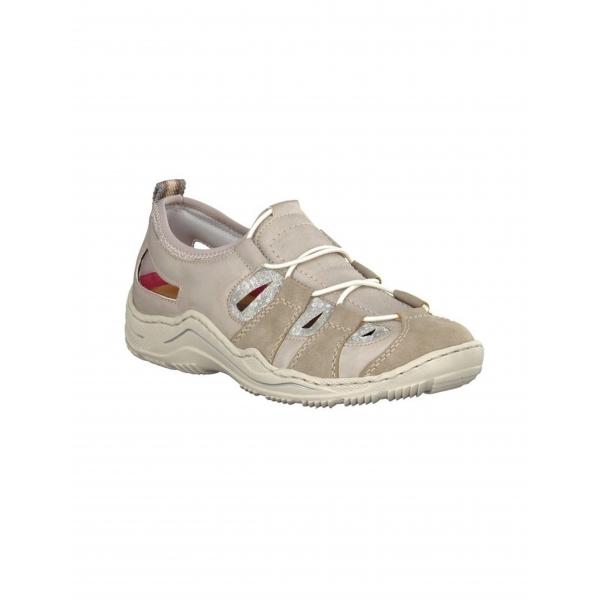 Rieker Damen Sneaker grau L0561-42
