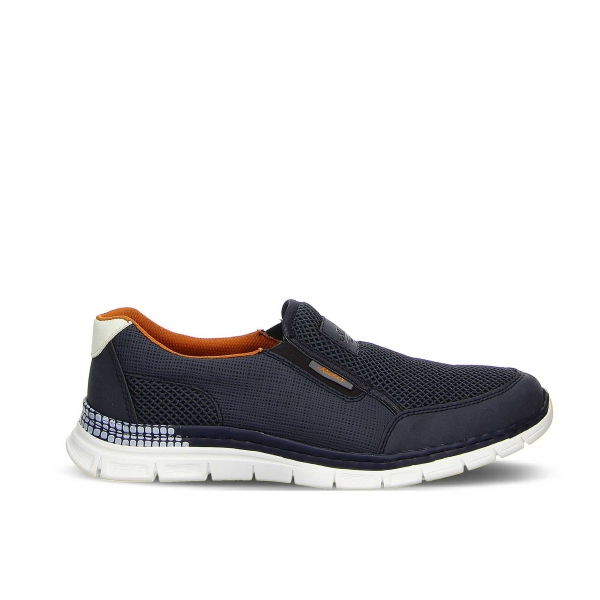 Rieker Herren Sneaker B4870-14 blau
