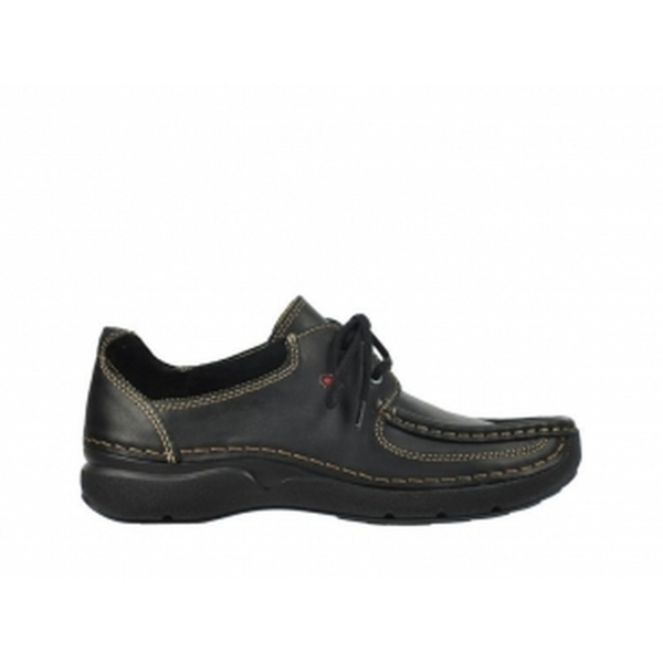 Wolky ROLLING SHOE black oiled