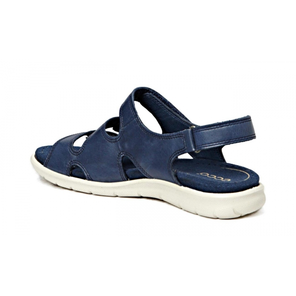 Ecco Damen Sandale Babett denim blue