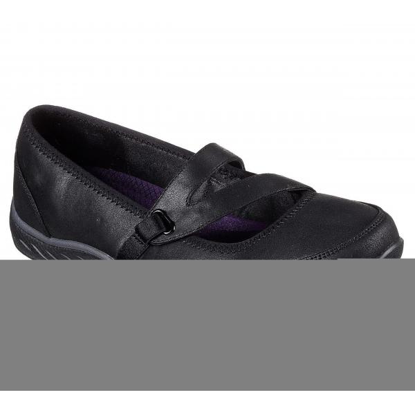 Skechers Relaxed Fit: Breathe Easy - Calmly Ballerina schwarz