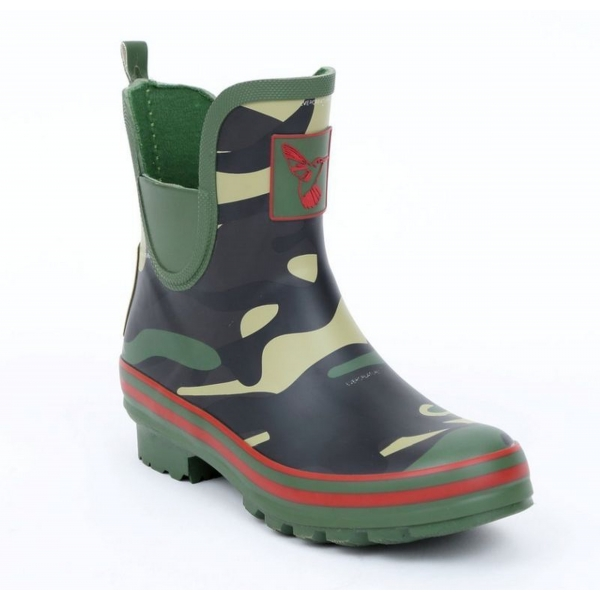 """Evercreatures Gummistiefel """"Meadow Camouflage"""" Ankle Boot"""