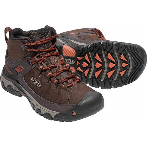 Keen Targhee EXP Mid Waterproof mulch/burnt ochre
