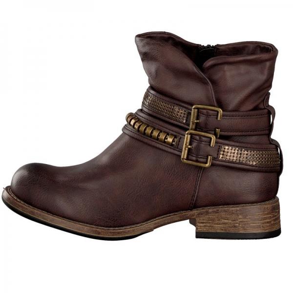 Rieker Damen Boot braun 96783-26
