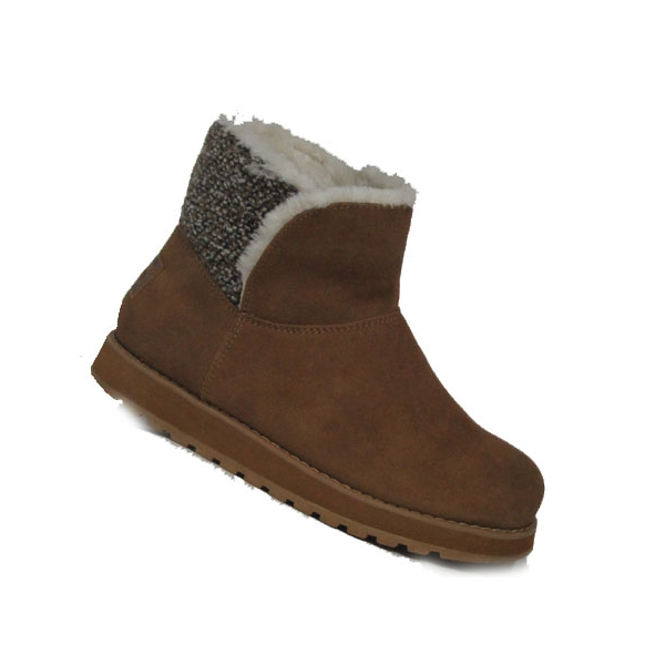 Skechers Keepsakes-Peekaboo chestnut Warmfutter