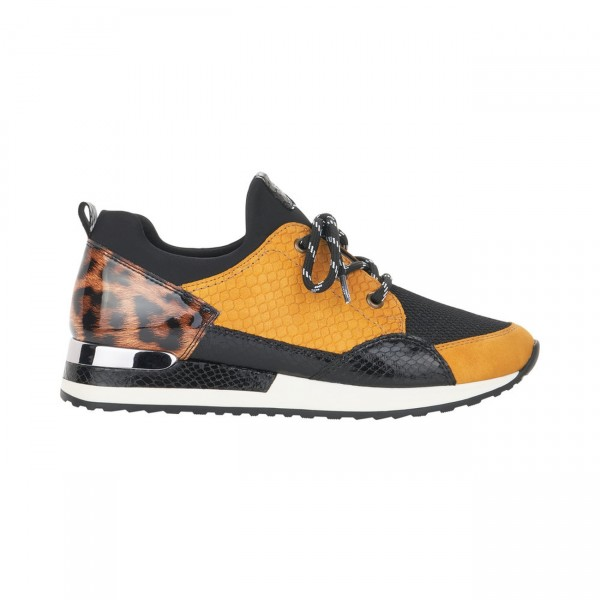 Remonte Sneaker gelb kombi