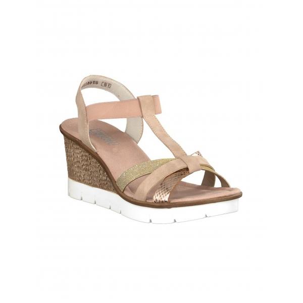 Rieker Damen Sandalette rosa 65590-90